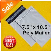 加厚塑料袋快递专用包装袋批发外贸快递自封袋poly mailer 19*26