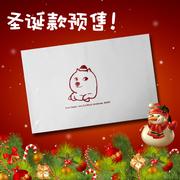 圣诞节个性预售快递袋 服饰特别设计满5000生产欢迎询问