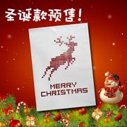 圣诞节个性2预售快递袋 服饰特别设计满5000生产欢迎询问
